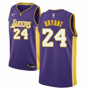 Women Lakers #24 Kobe Bryant Jersey purple